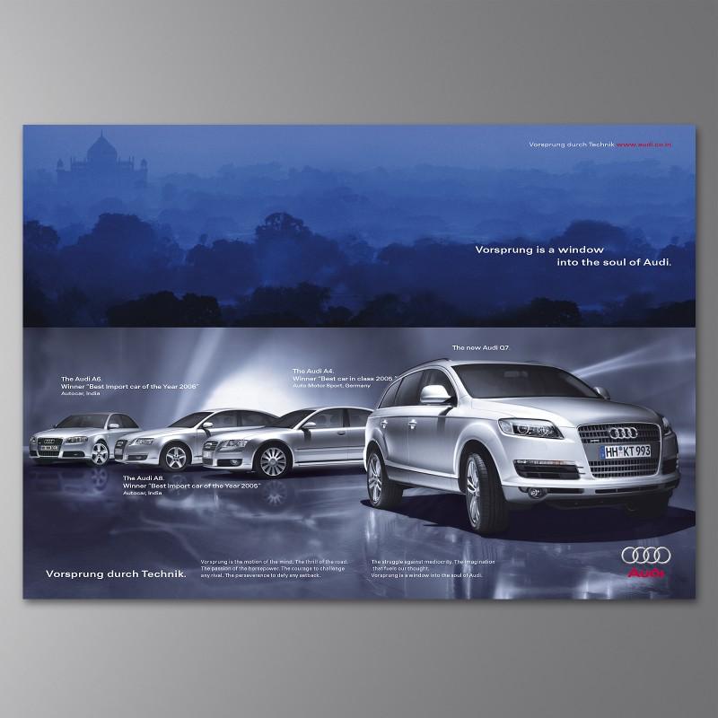 Modelle Audi India
