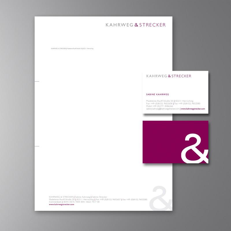Briefausstattung Kahrweg & Strecke
