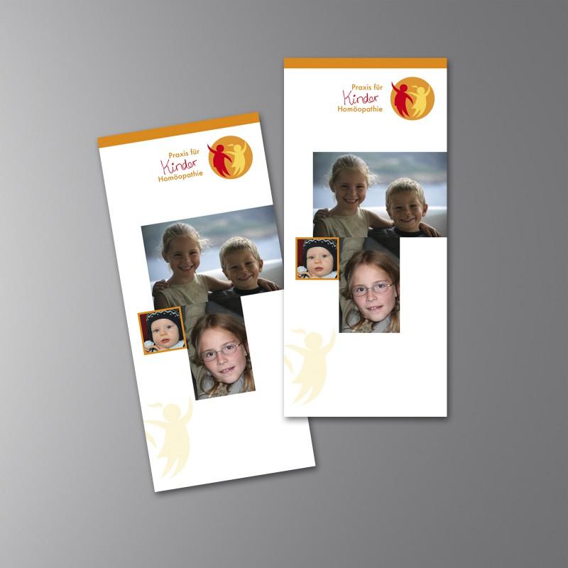 Flyer Kinder Homöopathie