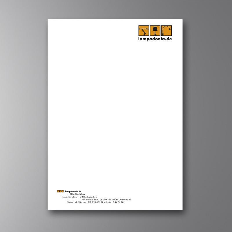 Briefbogen Lampadonia