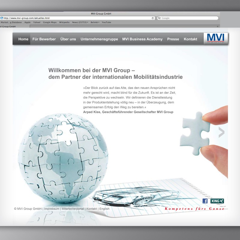 Website MVI Group