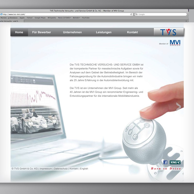 Website TVS
