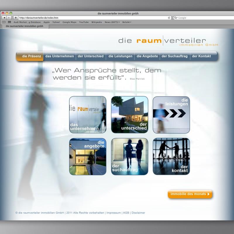 Webseite raumverteiler