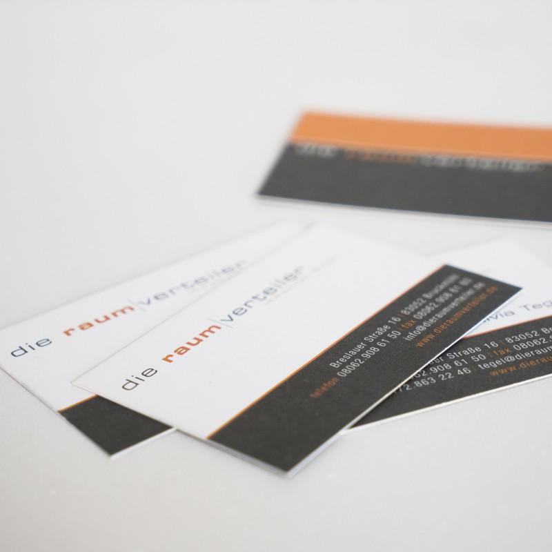 Visitenkarte raumverteiler