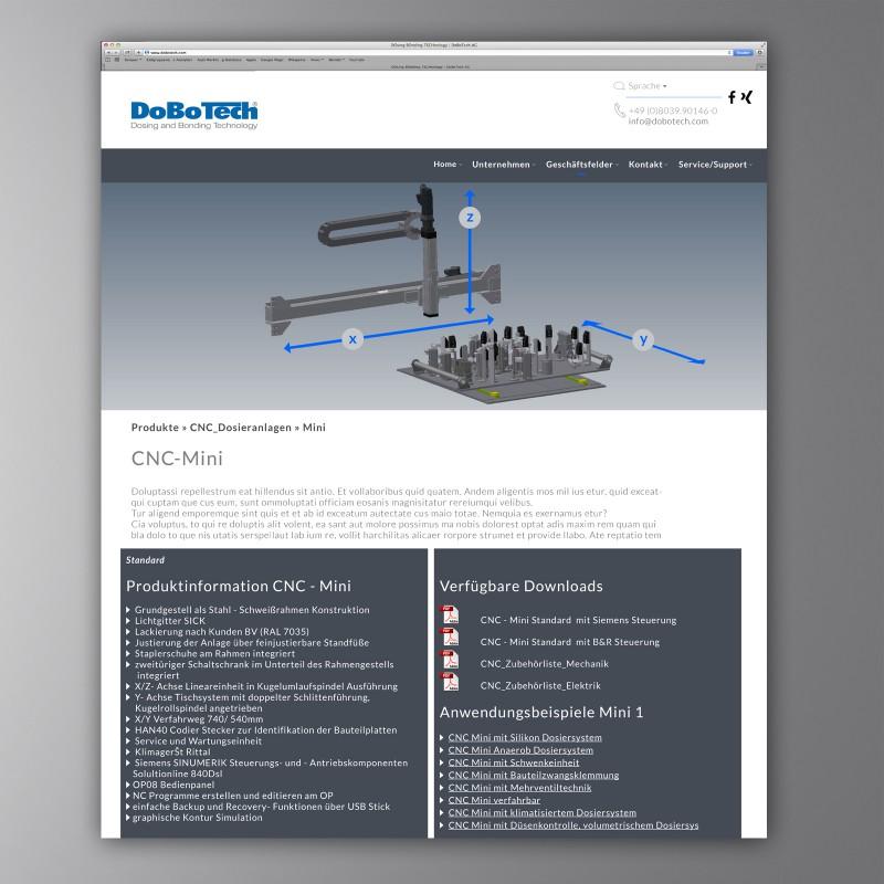 Produkt-Unterebene DoBoTech